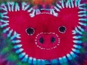 Ross Mill Piggy Tie Dye
