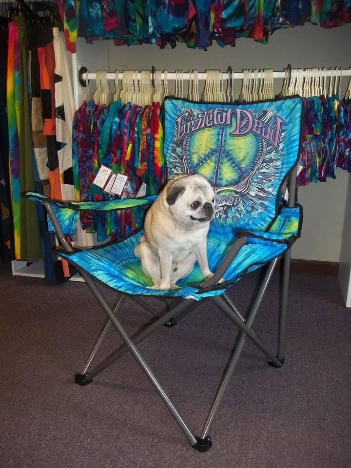 type b tie dye chair
