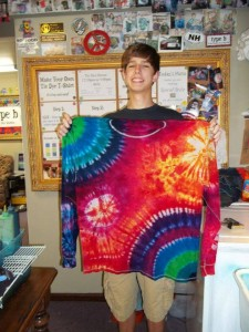 type b tie dye outer space 1