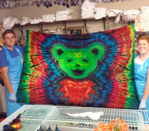 grateful dead tie dye dancing bear