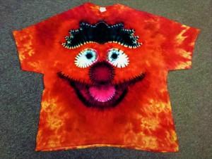 ernie tie dye for Ernie